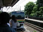 北鎌倉駅・新宿湘南ライン.jpg